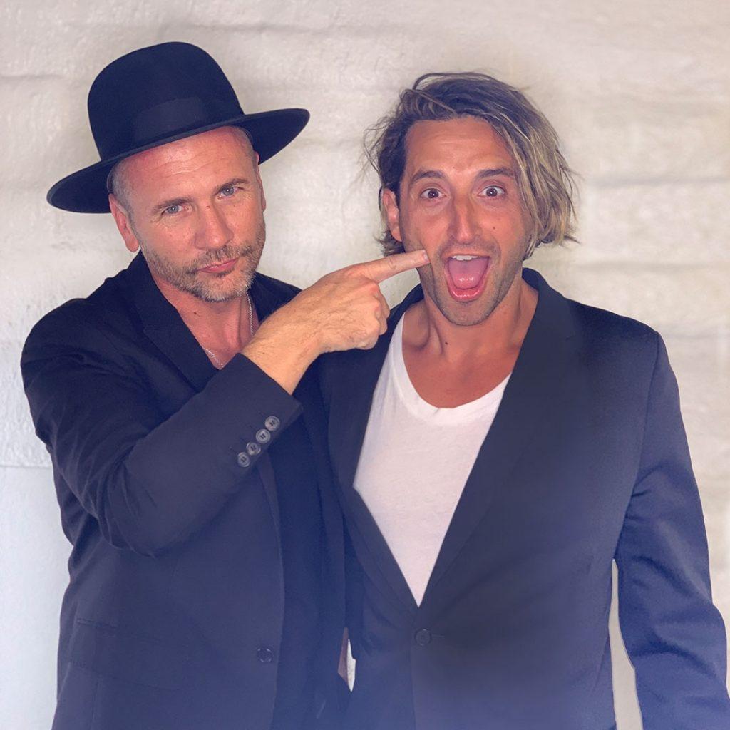 Joey Scandizzo ja Andrew O'Toole